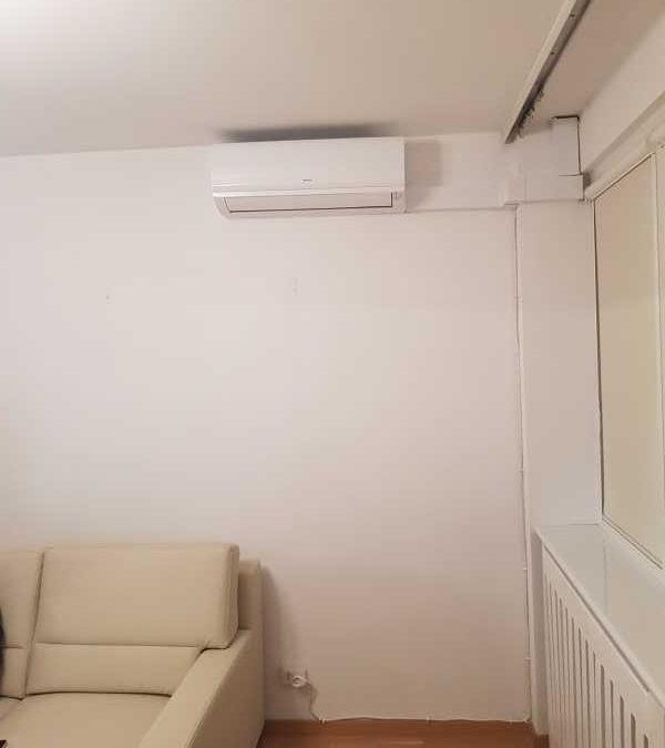 Montaż w mieszkaniu nowego klimatyzatora